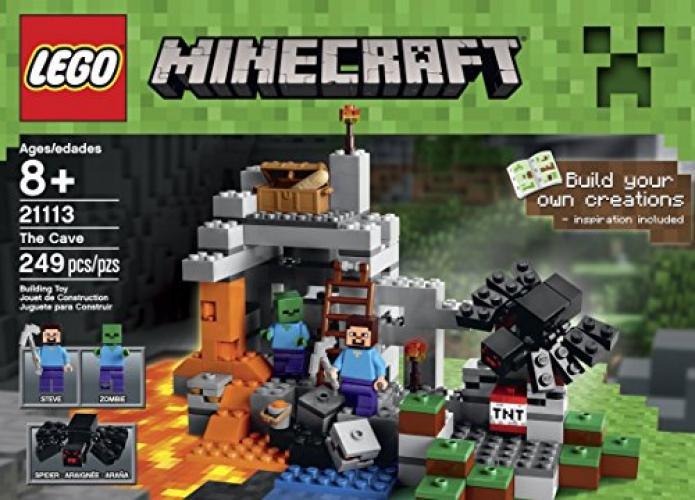 Lego Minecraft The Cave 21113 Playset by Lego
