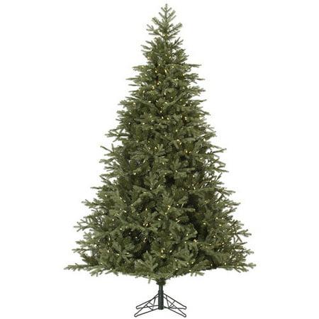 Vickerman Pre-Lit 4.5 Elk Frasier Fir Artificial Christmas Tree, LED, Warm White Lights