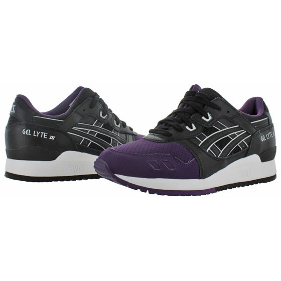 Asics Men's Gel Lyte Iii PurpleBlack Ankle High Leather Running Shoe 11M