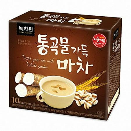 [Nokchawon] Wild Yam Tea with Whole Grains 18g X 10 - Tear Stick