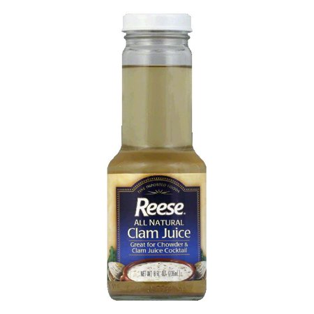 Clam Juice - Reese Clam Juice, 8 FO (Pack of 6)