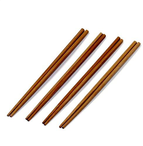 chef craft bamboo chopsticks, brown