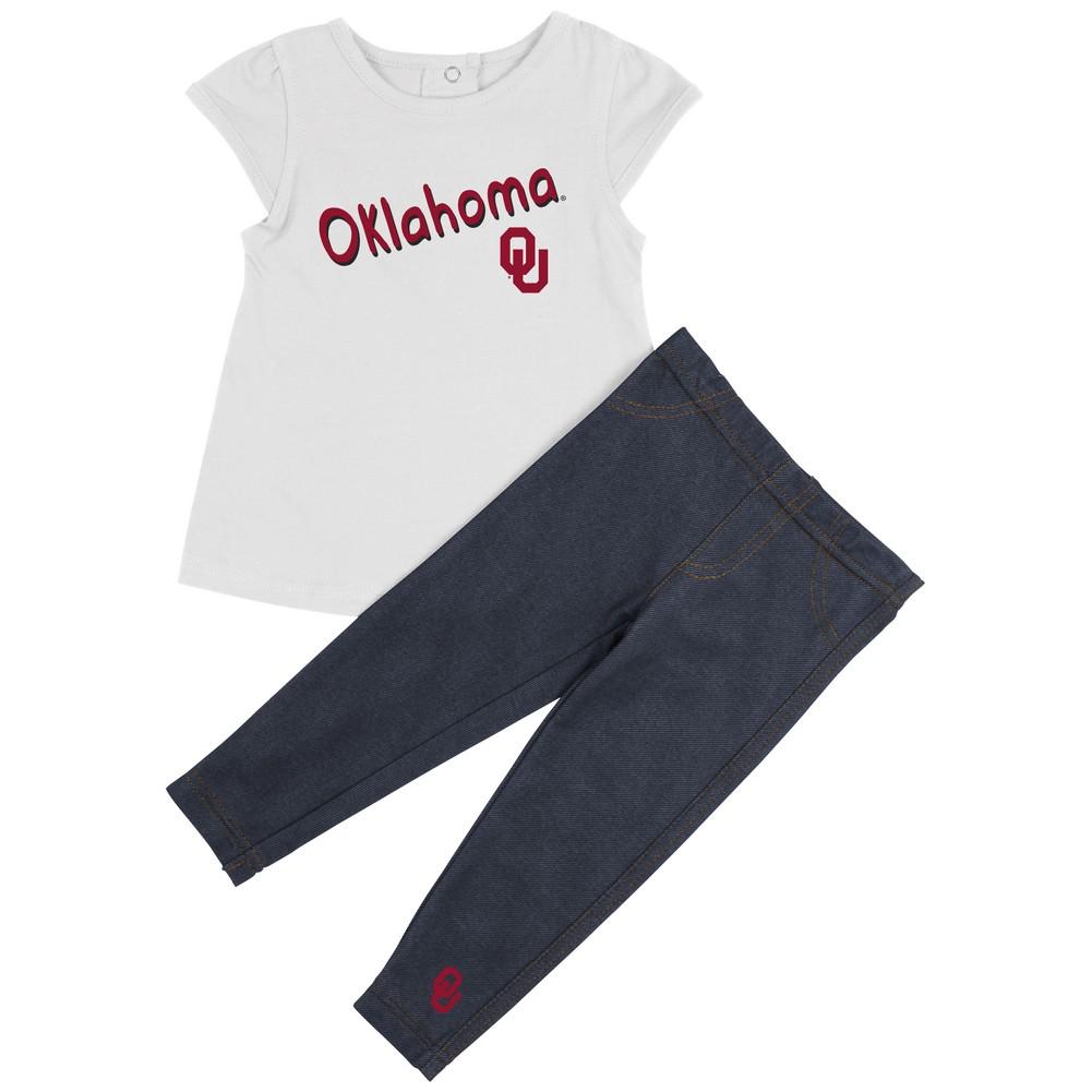University of Oklahoma Sooners Girls' Tee Shirt and Jeggings Set