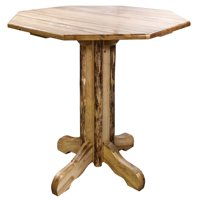 Glacier Country Collection Pub Table