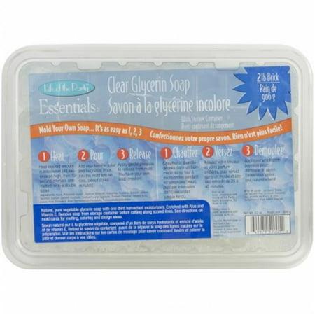 - Glycerin Soap 32oz-Clear