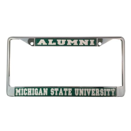 Michigan State University Spartans Alumni License Plate Frame ...