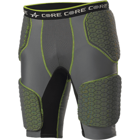 Hexpad Football Girdle - Alleson Youth Core Integrated 5-Pad Football Girdle