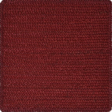 Better Homes And Gardens 14 In Square Jute Placemat Red