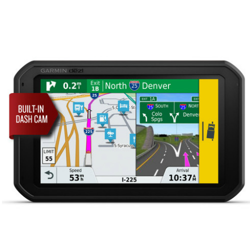 Garmin dezlCam 785 LMT-S (North America) 7 Inches Trucking GPS Navigator with Magnetic Mount by Garmin