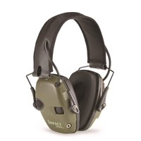 Howard Leight Impact Sport Electronic Earmuff Green