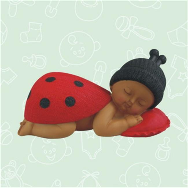 De Yi 26002K-RD Ethnic Baby Shower Ladybug Centerpiece in Red