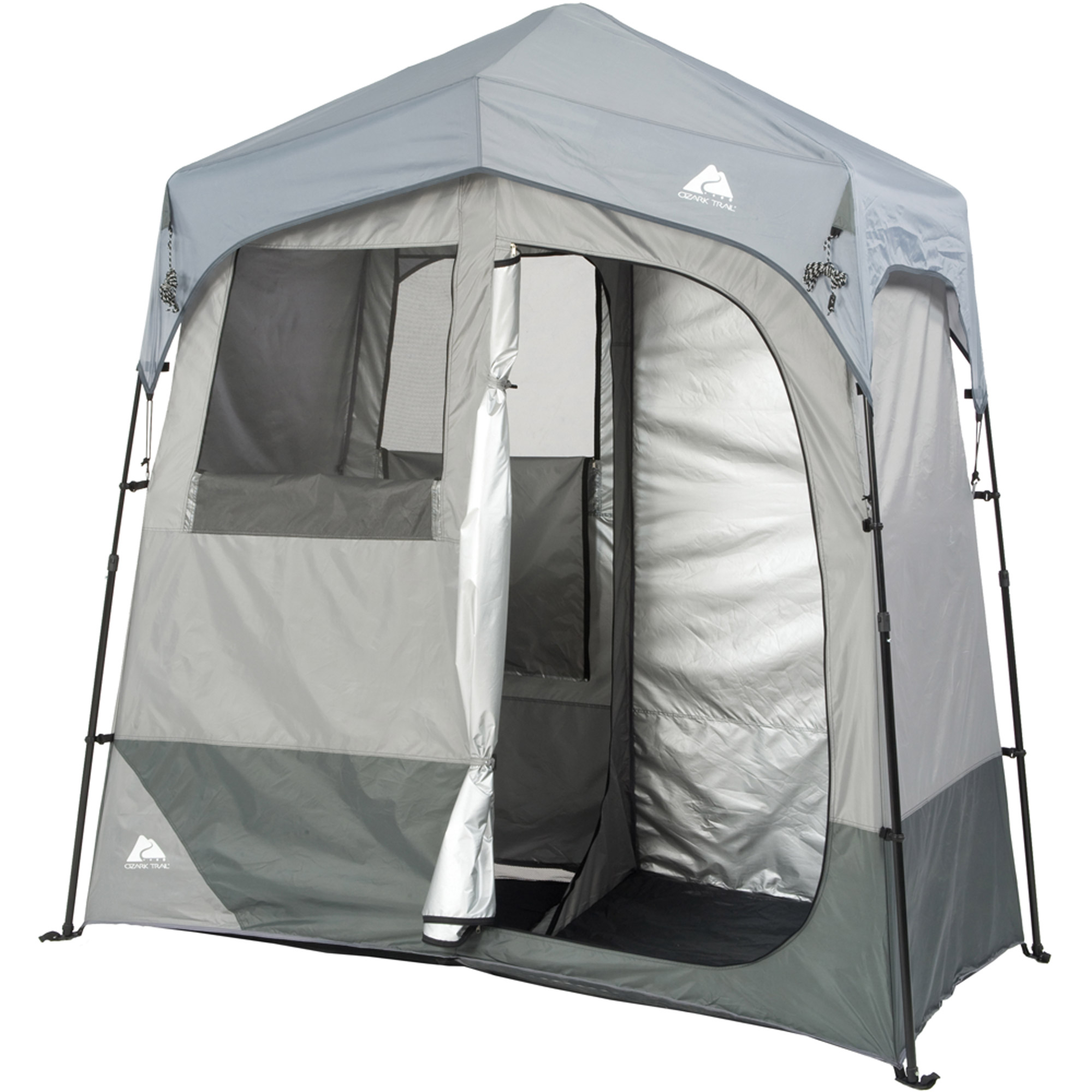 Ozark Trail 2-Room Instant Shower/Utility Shelter  sc 1 st  Walmart & Ozark Trail 2-Room Instant Shower/Utility Shelter - Walmart.com