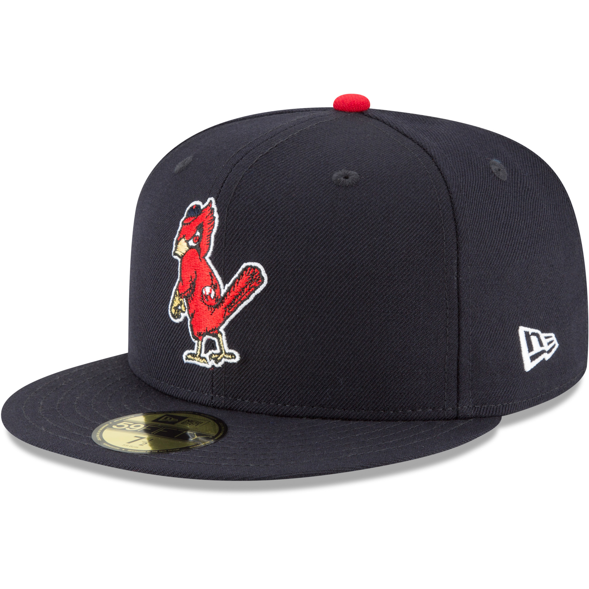 St. Louis Cardinals New Era Cooperstown Collection Wool 59FIFTY Fitted Hat - Navy
