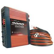 SCHUMACHER ELECTRIC PIF-2000 Inverter,115VAC,12VDC,2000W,3-Outlet