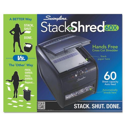Swingline 60 Sheet Duty Cross-Cut Shredder