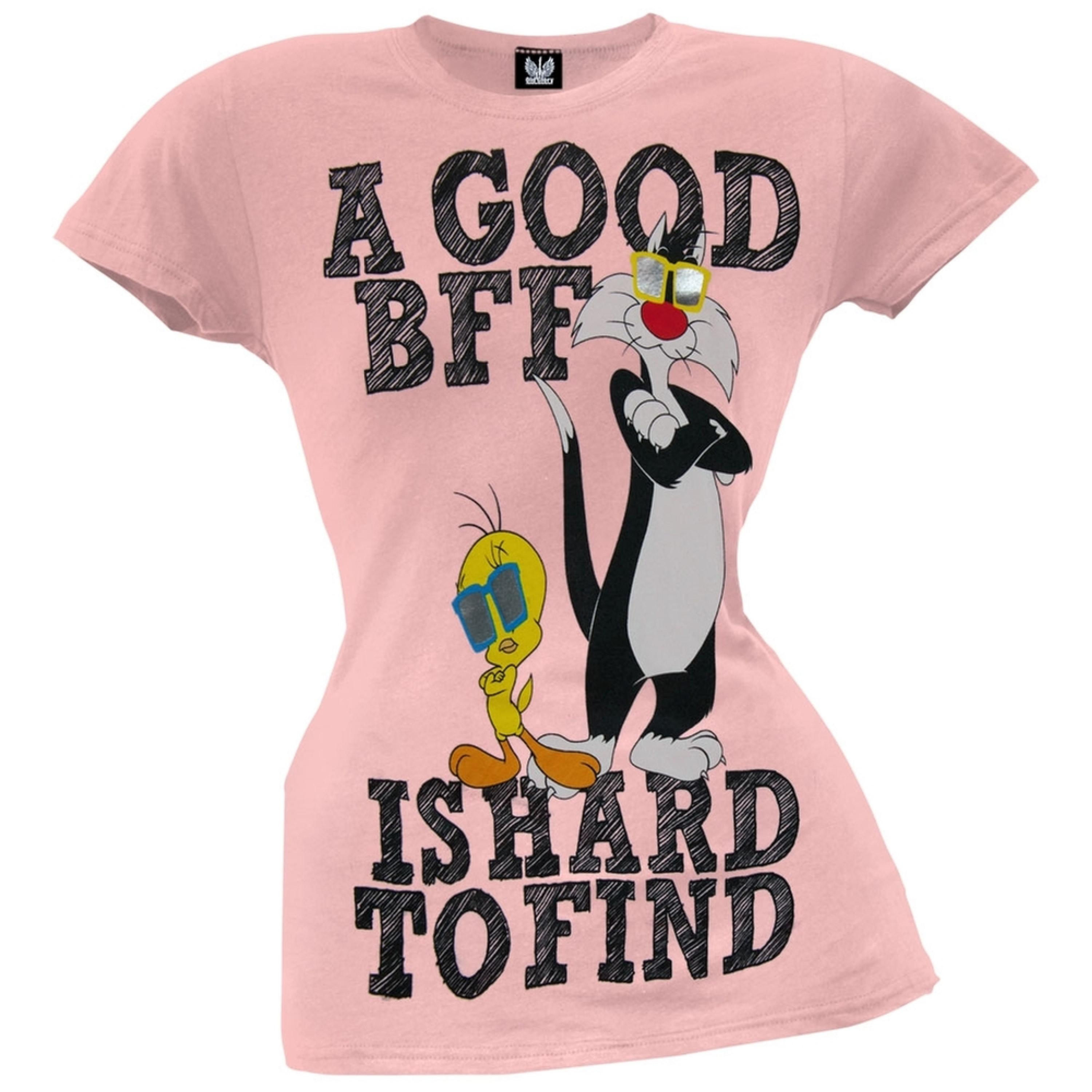 Looney Tunes - A Good BFF Juniors T-Shirt