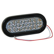 "Global Industrial 6-1/2"" Oval Back-Up Light Led"