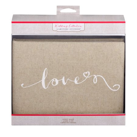 Gartner Studios Wedding Collection Guest Book, 1 Each