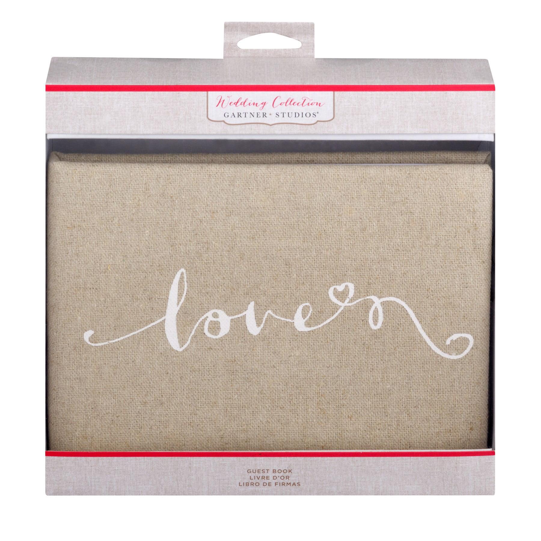 Gartner Studios Wedding Collection Guest Book, 1.0 CT