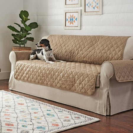 Better Homes and Garden Non-Skid Waterproof Quilted Pet Sofa Cover (Waterproof Sofa Cover)