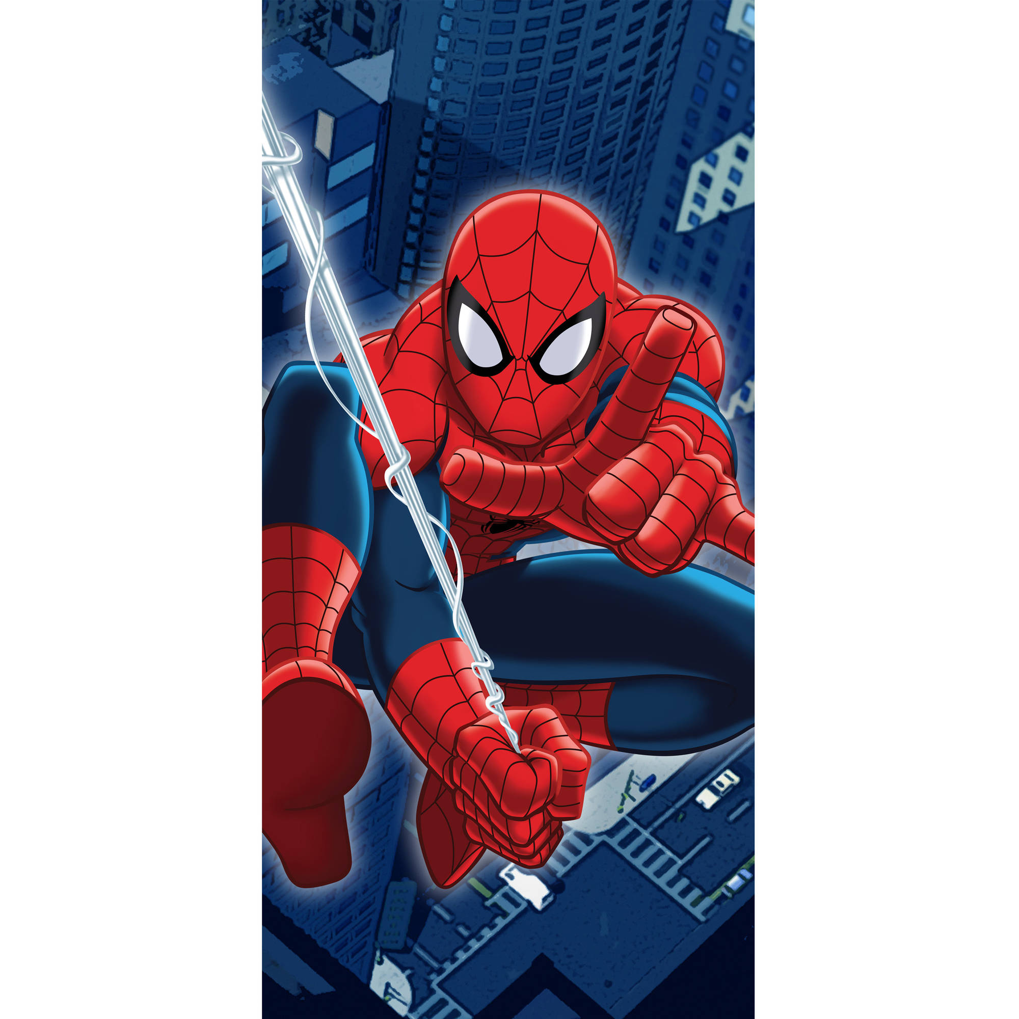 Marvel Spider-Man Night City Beach Towel