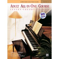 Alfred's Basic Adult Piano Course: Alfred's Basic Adult All-In-One Course, Level 1: Lesson, Theory, Technic (Other)