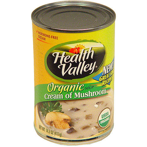 Health Valley Cream Of Mushroom Soup, 14.5 oz (Pack of 12)