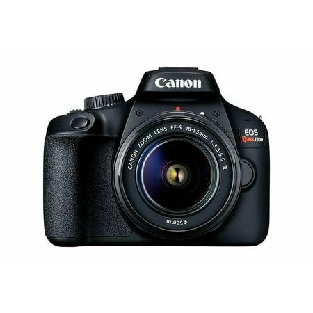 Canon EOS Rebel T100 DSLR Camera w/EF-S 18-55mm f/3.5-5.6 DC Lens (International Model)