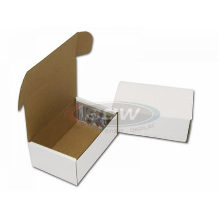 BCW Graded Trading Corrugated Cardboard Storage Box for Graded/PSA Cards (Cardboard Box With Handle)