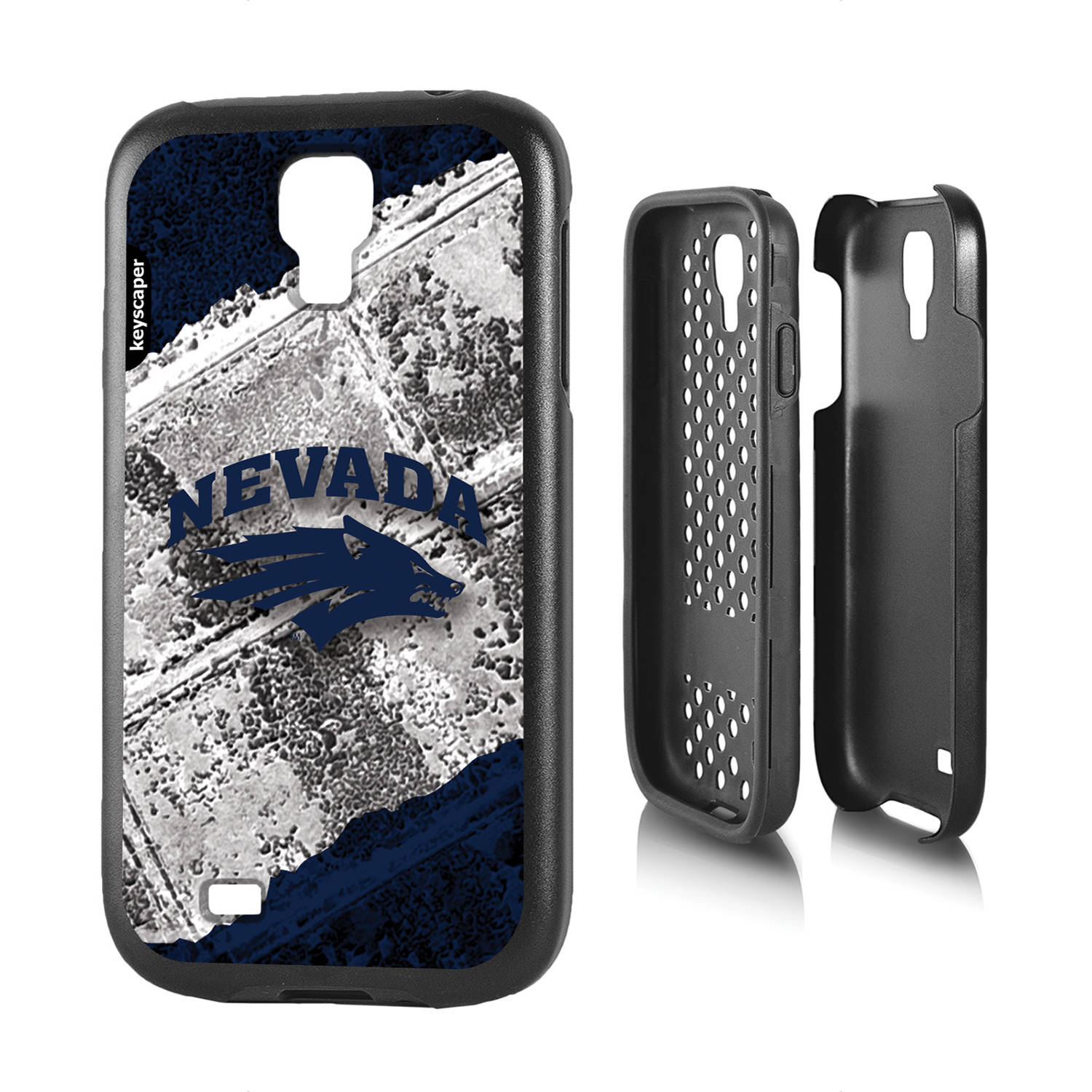 Nevada Wolf Pack Galaxy S4 Rugged Case