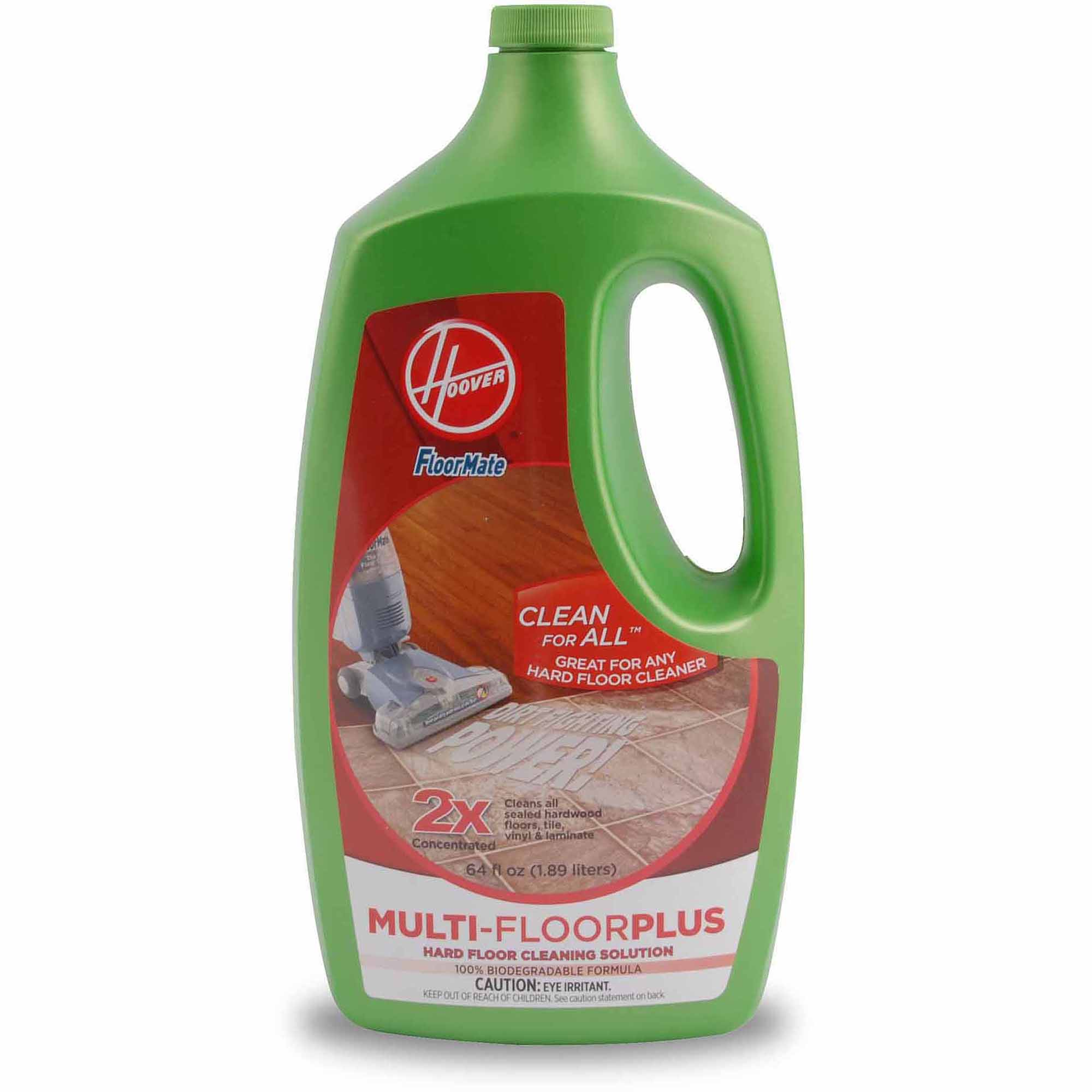 Hoover 2X FloorMate Multi-FloorPlus Hard Floor Cleaning Solution 64 oz, AH30420
