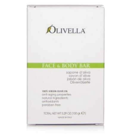 Olivella All Natural 100% Virgin Olive Oil Face & Body Soap Original