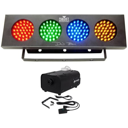 Chauvet DJ BANK LED Party Light w/Automated Sound Activated Programs+Fog Machine Chauvet Dj Bank