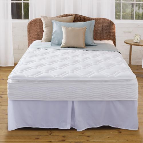 Priage 10 inch Pillow Top Full size iCoil Spring Mattress