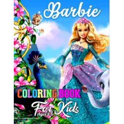 Barbie Coloring Book for Kids Ages 4-6 : Barbie Jumbo Coloring Book With Premium Images For All Ages (Perfect for Children Ages 4-8)