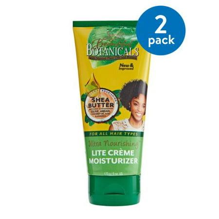 (2 Pack) Soft & Beautiful Botanicals Ultra Nourishing Lite Crme Moisturizer 6 oz.