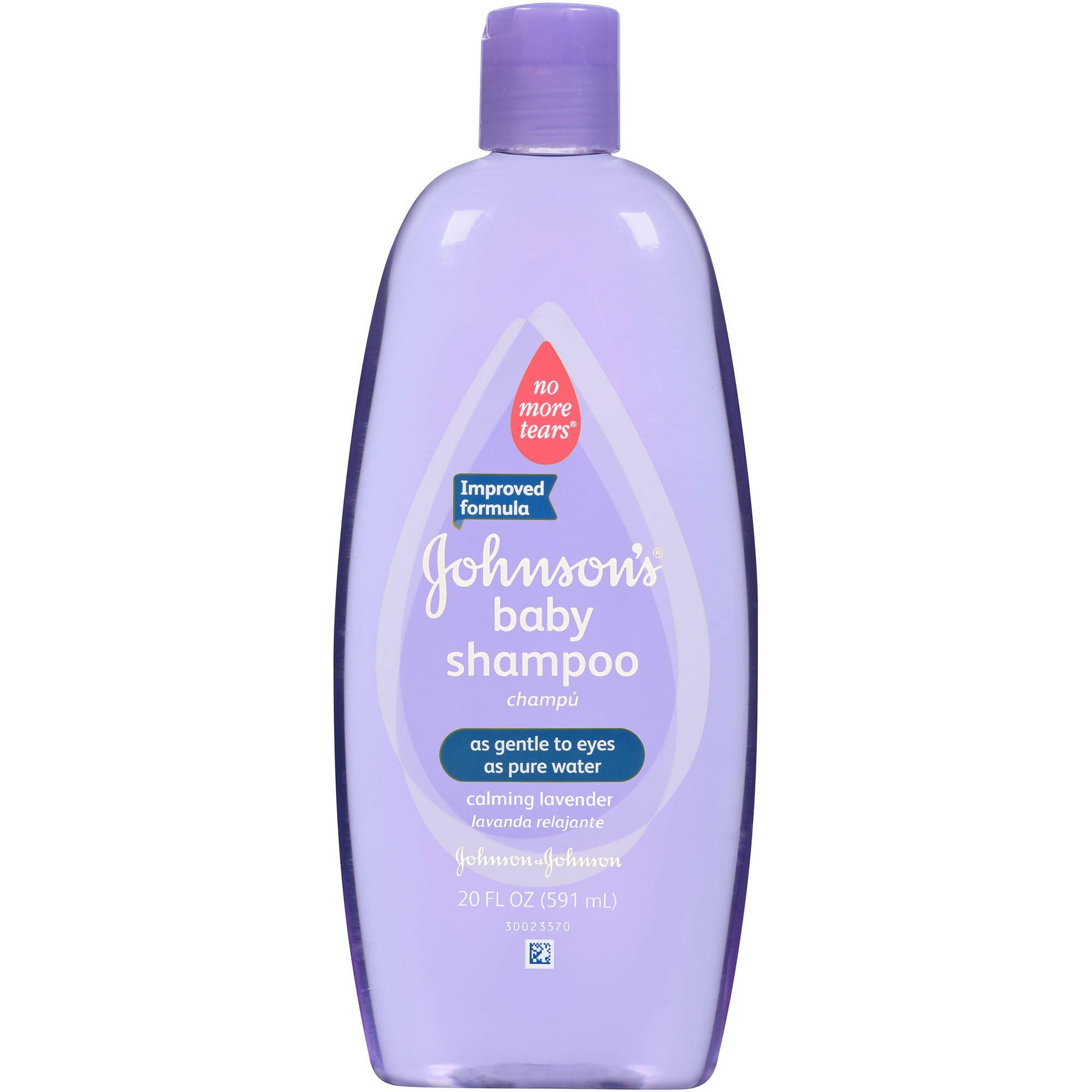 Johnson's Baby Shampoo with Calming Lavender, 20 Fl. Oz
