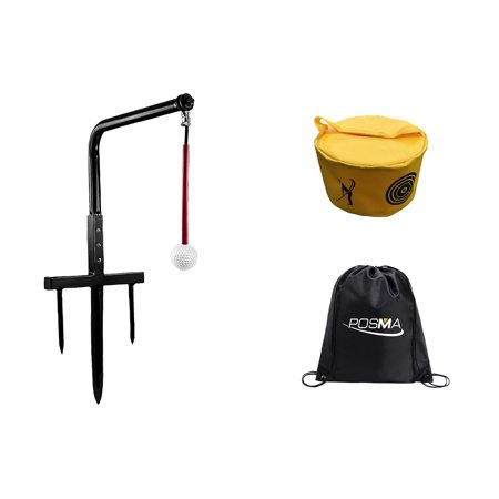 - POSMA ST080B Metal Golf Swing Trainer Club Champ Swing Groover Gift Set