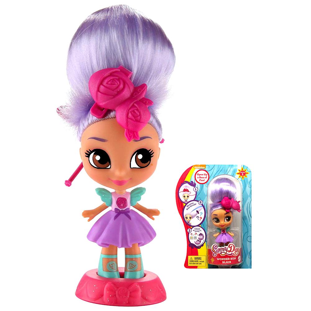 "Blair Wonder Sunny Day Bun Doll 3.5"""