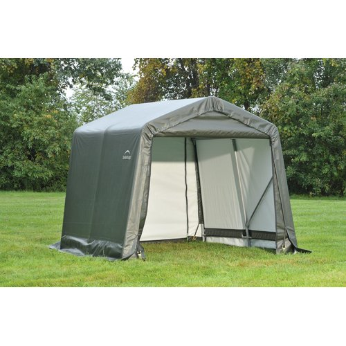 Shelterlogic 8' x 8' x 8' Peak Style Shelter, Green