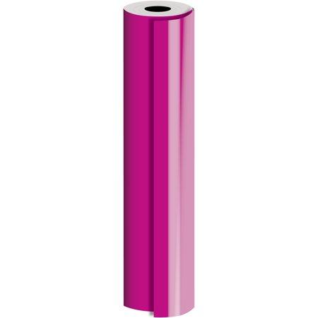 Magenta Wrap (Jillson & Roberts Bulk Gift Wrap, Matte Solid Magenta, Full Ream 833' x 30