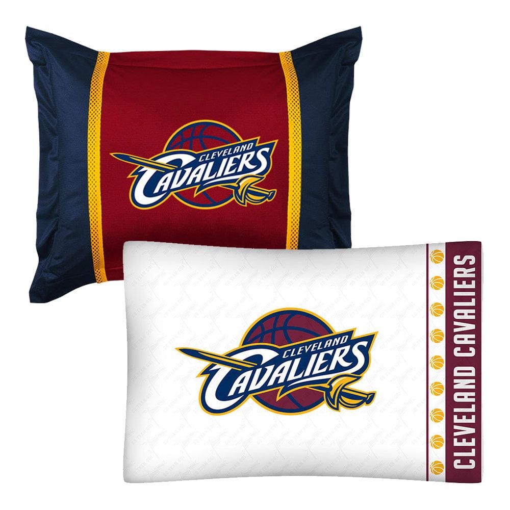 NBA Cleveland Cavaliers Pillowcase Sham Set Basketball Bed
