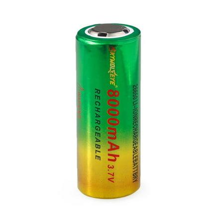 Hot 3.7V 8800mAh TR26650 Li ion Rechargeable Battery for LED Flashlight