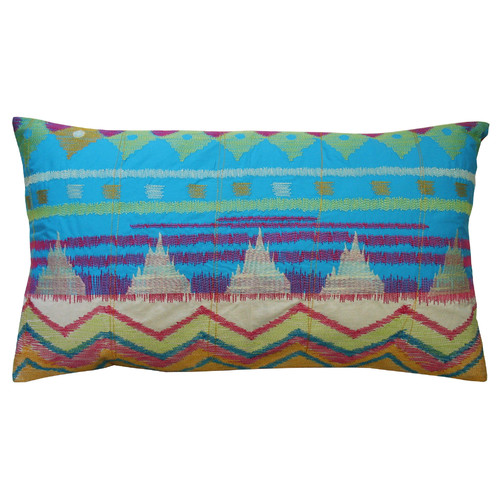 Koko Company Java Bright Cotton Lumbar Pillow