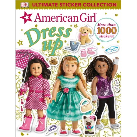 Ultimate Sticker Collection: American Girl Dress-Up (Paperback) (Girls Clipart Collection)