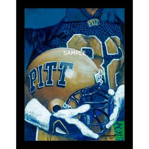 "NCAA - Pittsburgh Panthers - ""U of P Helmet Series"" - Wall - Framed Giclee"
