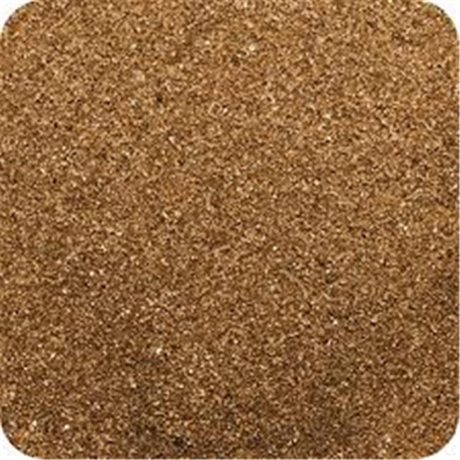 Sandtastik CS2805 Classic Colored Sand 28 oz. Bottle - Shake & Pour Lid - Brown