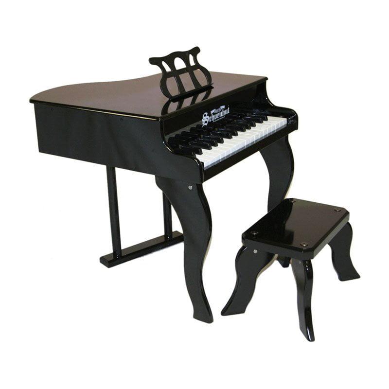 30 Key Fancy Baby Grand Piano - Black