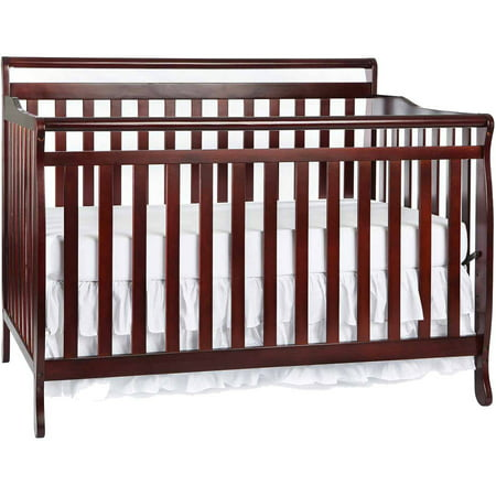 Dream On Me Liberty 5 In 1 Convertible Crib Cherry