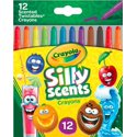 12 Ct Crayola Silly Scents Scented Mini Twistables Crayons